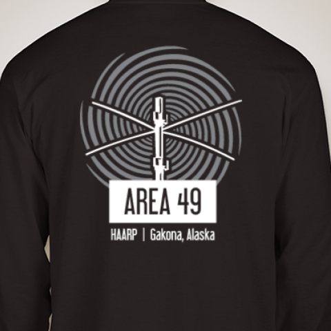 Area 49 Black Long Sleeve Shirt (Adult)
