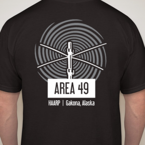 Area 49 Black T-Shirt (Adult)