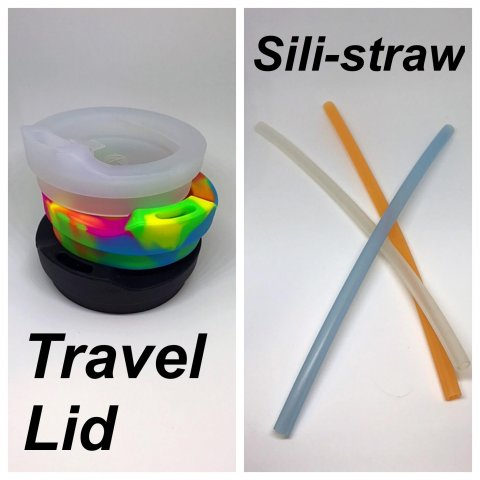 Silicone Pint Glass Accessories